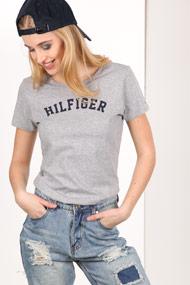 Tommy Hilfiger - T-Shirt - Heather Grey