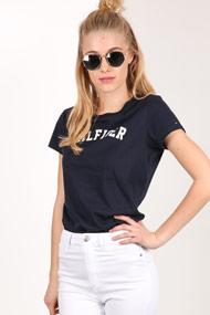 Tommy Hilfiger - T-Shirt - Dark Navy Blue