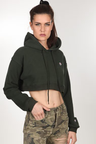 Bae - Sweatshirt court - Dark Green