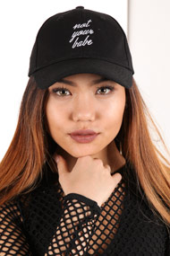 Tally Weijl - Strapback Cap - Black + White