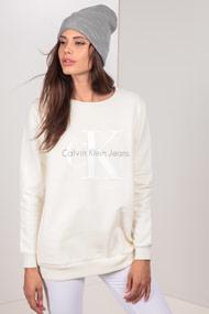 Calvin Klein - Sweatshirt - Offwhite