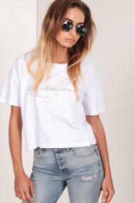 Calvin Klein - Oversize T-Shirt - White