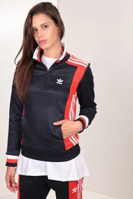 adidas Originals - Trainingsoberteil - Navy Blue + Red + White