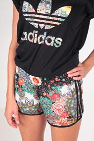 adidas Originals - Shorts - Black + Multicolor