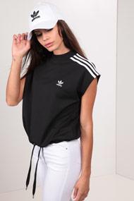 adidas Originals - T-Shirt - Black + White