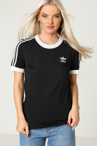 adidas Originals - T-Shirt - Black + White