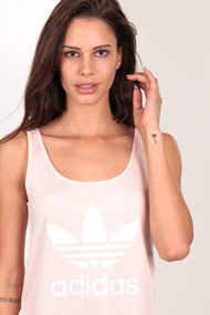 adidas Originals - Tanktop - Rose + White
