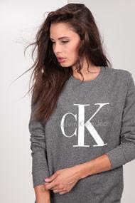 Calvin Klein - Sweatshirt - Heather Grey