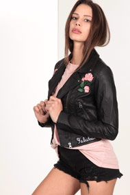 Tally Weijl - Veste en similicuir - Black