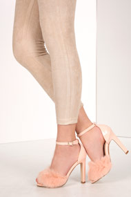 Cape Robbin - Sandales high heels - Rose
