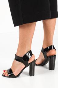 Glamour - Sandalen - Black