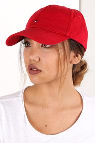 Tommy Hilfiger - Strapback Cap - Red