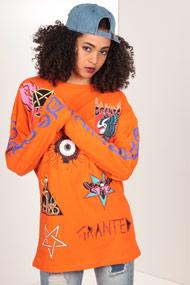 Granted - Langarmshirt - Orange