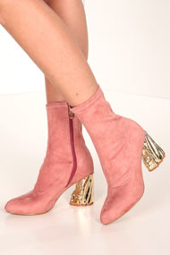 Cape Robbin - Bottines - Old Rose + Gold