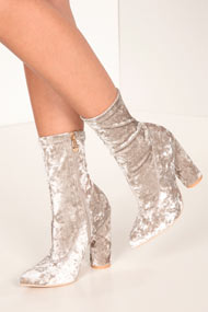Cape Robbin - Bottines - Light Grey