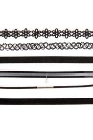 No Label - Lot de colliers - Black