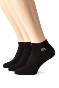 Lacoste - Dreierpack Socken - Black