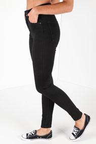 Levi's - High Waist Skinny Jeans - Black