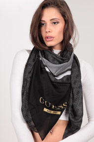 Guess - Tuch / Foulard - Anthracite + Black