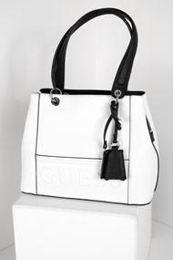 Guess - Handtasche - White + Black