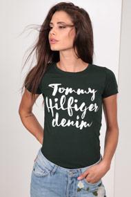 Tommy Hilfiger - T-Shirt - Dark Green
