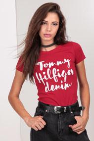 Tommy Hilfiger - T-Shirt - Red