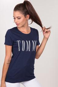 Tommy Hilfiger - T-Shirt - Navy Blue + White
