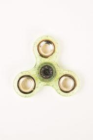 No Label - Fidget Spinner - Light Green + Multicolor