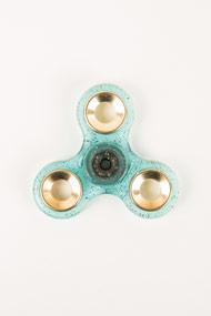 No Label - Fidget Spinner - Light Blue + Multicolor