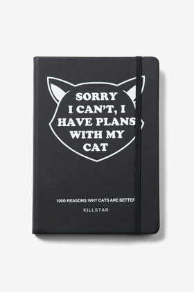 Picture of Sorry I can't, I have plans with my cat