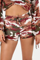 Lux La - Shorts - Camouflage Old Rose