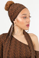 Day & Night - Tuch / Foulard - Brown