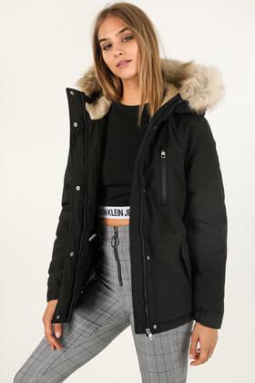 Vestes & Manteaux Rouge Calvin Klein Doudoune à capuche