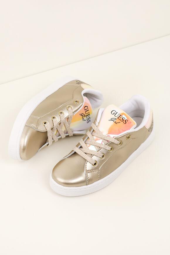 Image sur Sneakers métallisées