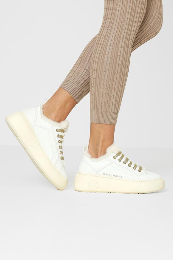 Bild von Reflektierende Plateau Sneaker