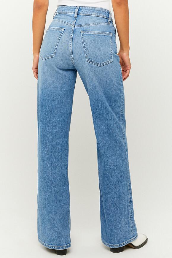 Bild von High Waist Wide Leg Jeans