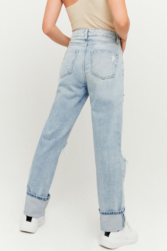 Bild von High Waist Straight Leg Jeans