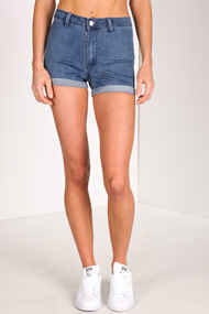 Ruby Tuesday - High Waist Shorts - Blue