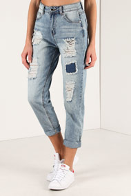 Ruby Tuesday - Mom Fit Jeans - Light Blue