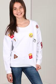 Amazing - Sweatshirt - White