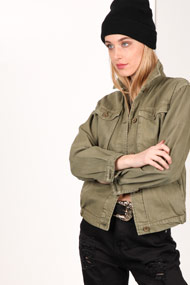 Ruby Tuesday - Leichte Jacke - Olive Green