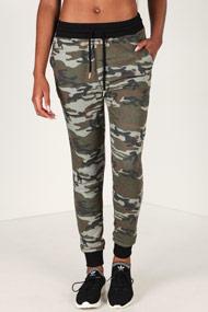 LA SHADY - Sweathose - Camouflage + Black