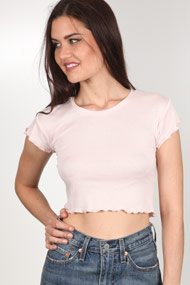 Ruby Tuesday - T-Shirt en ripp - Rose