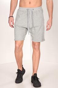Supercrew - Shorts - Heather Light Grey