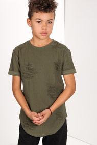 45 RPM - T-Shirt - Olive Green