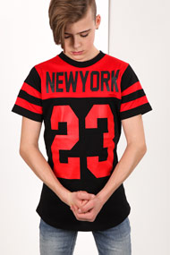 Reset - T-Shirt - Black + Red