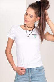 Ruby Tuesday - Crop T-Shirt - White