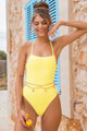 Aenymblaze Clothing - Badeanzug - Yellow