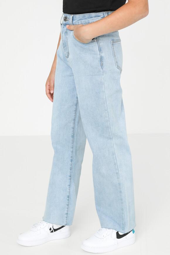 Bild von High Rise Straight Jeans